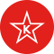 kosher icon ' red